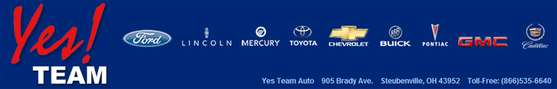 Yes Team Nissan, 905 Brady Ave., Steubenville, OH 43952